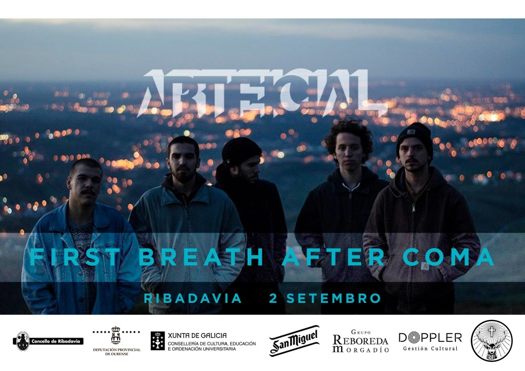 first breath after coma-arteficial